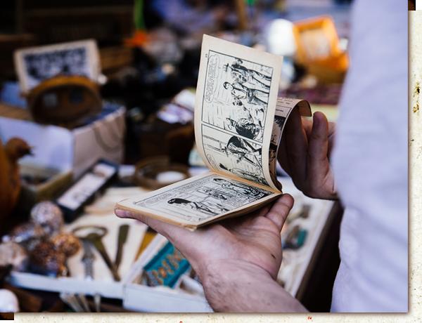 Vender banda desenhada antiga